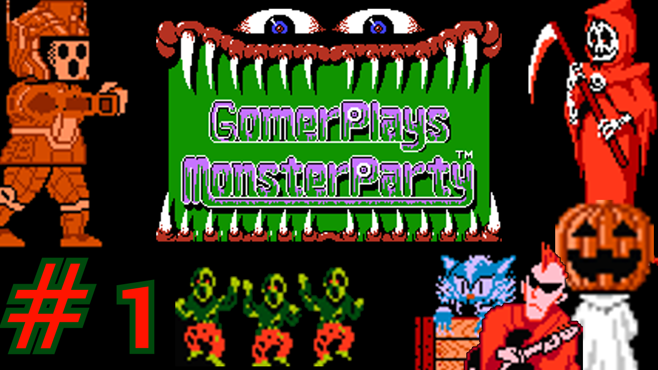 Gomer Plays Monster Party (Part 1: Not The Proper Response)