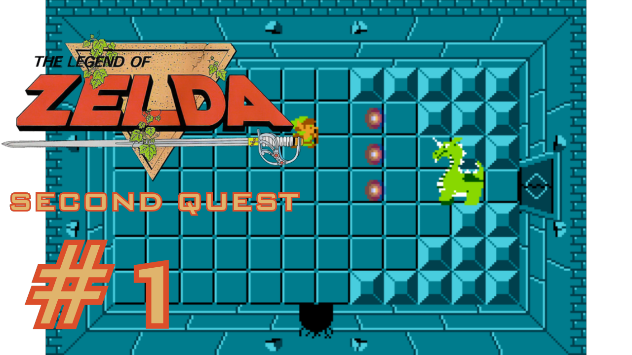 Gomer Plays The Legend of Zelda SECOND QUEST (Part 1: World Wandering Power-Up)