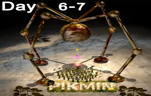 Let's Play Pikmin – Day 6 & 7 : The Forest Navel 3/3