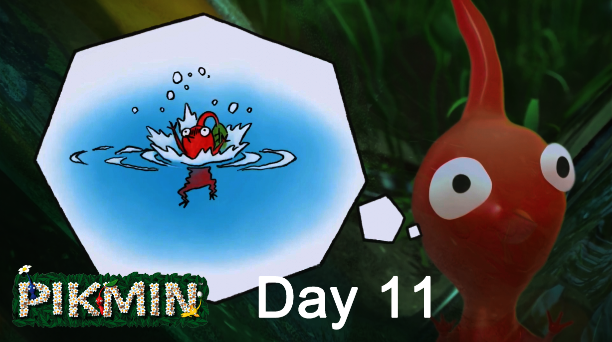 Let's Play Pikmin – Day 11 : The Distant Spring 2/3