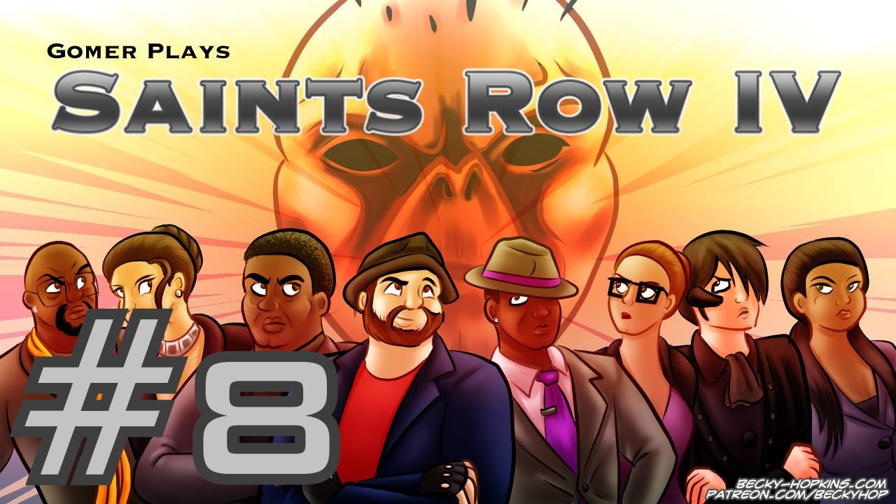 Gomer Plays Saints Row IV (Part 8: Rescue the Geek!)