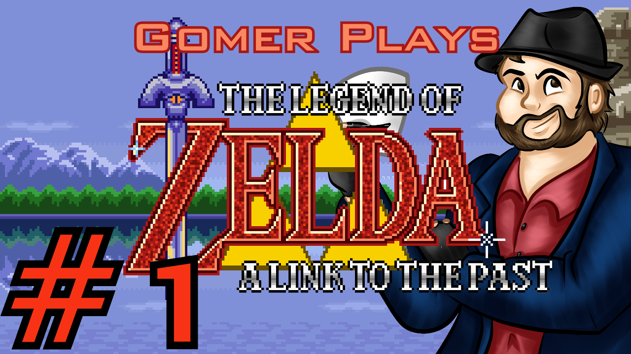 Gomer Plays The Legend of Zelda: A Link to the Past (Part 1: Rushed Start)