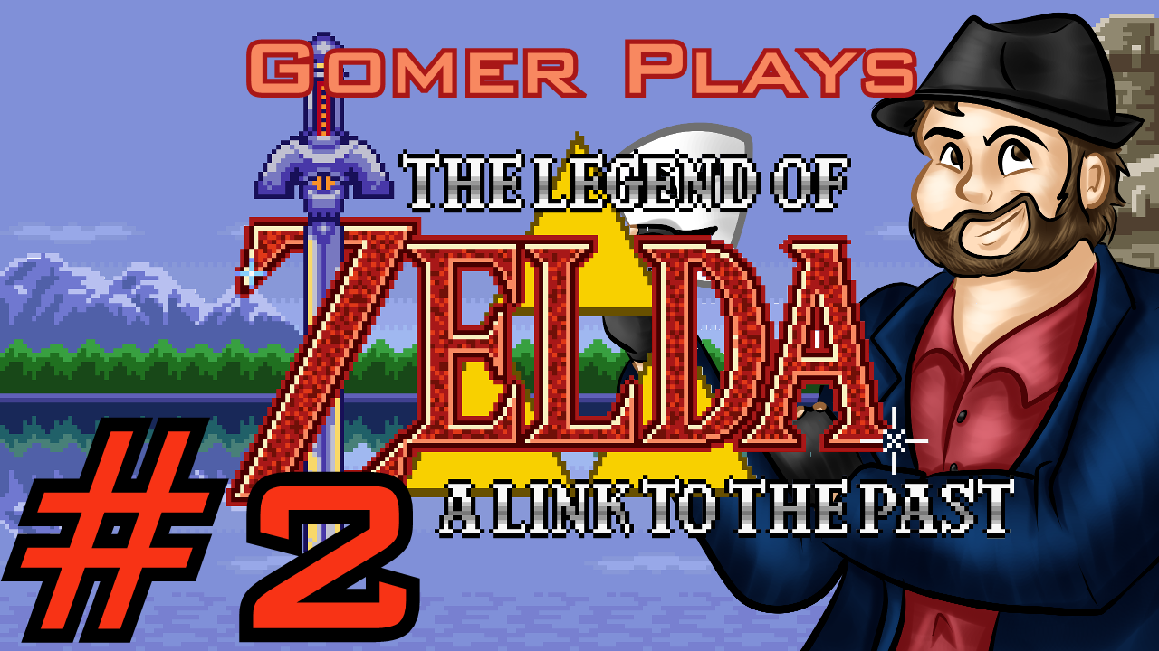 Gomer Plays The Legend of Zelda: A Link to the Past (Part 2: Courageous First Steps)