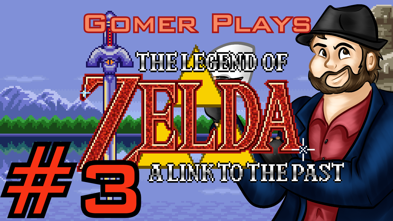 Gomer Plays The Legend of Zelda: A Link to the Past (Part 3: Now You're Playing With Power!)