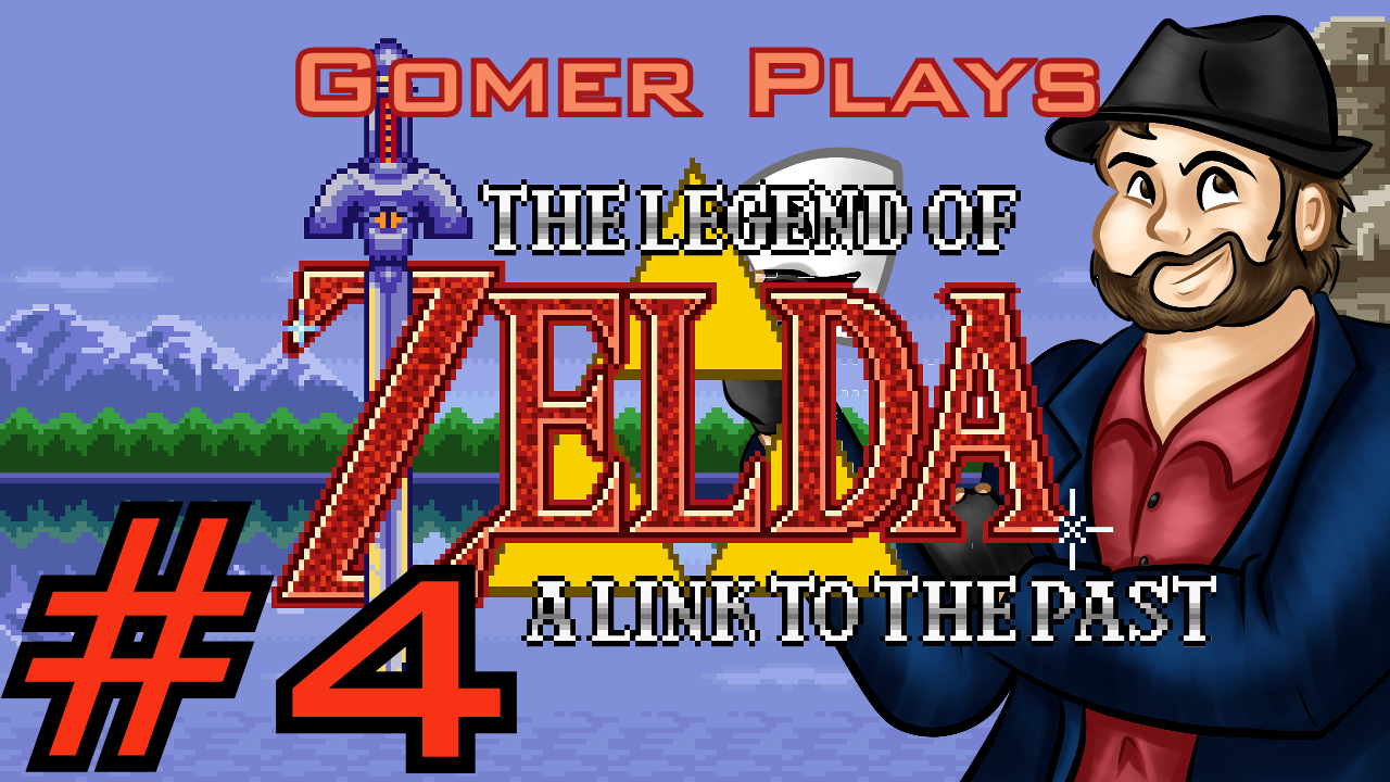 Gomer Plays The Legend of Zelda: A Link to the Past (Part 4: Moon Tower)