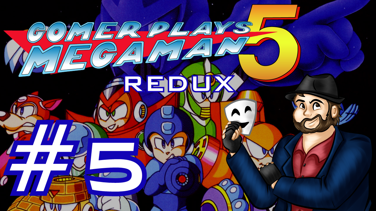 Gomer Plays REDUX Mega Man 5 (Part 5: His Weapon Is A Crystal Eye)