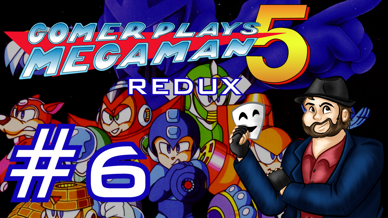 Gomer Plays REDUX Mega Man 5 (Part 6: The Gravity of the Situation)